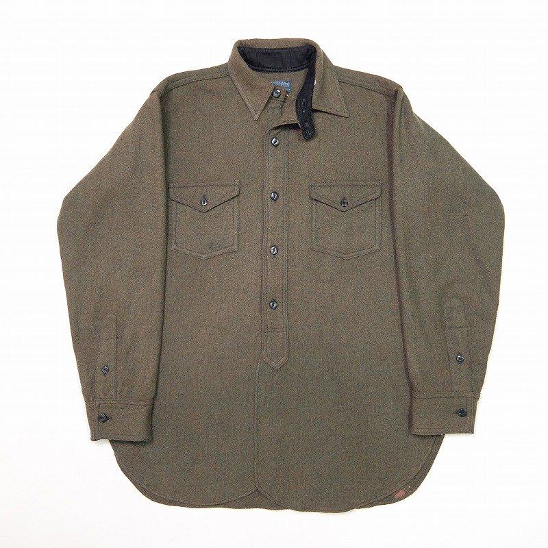 PENDLETON B.D. Wool Shirt with Chinstrap