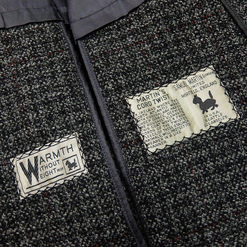 SAMUEL MARTIN Tweed Over Coat