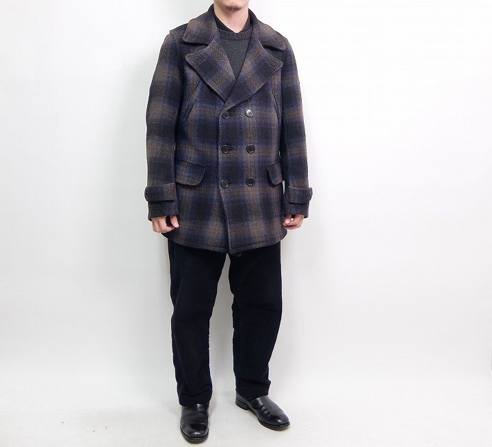 MONTGOMERY WARD Double Breasted Coat
