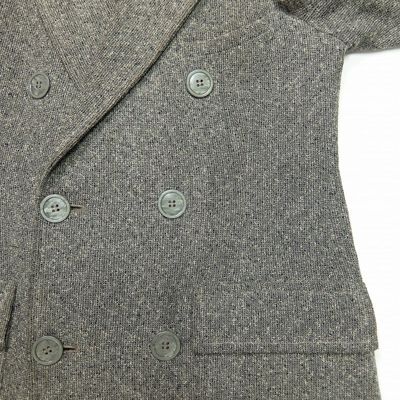 Double Breasted Tweed Over Coat
