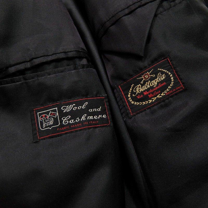 Battaglia Cashmere Wool Coat
