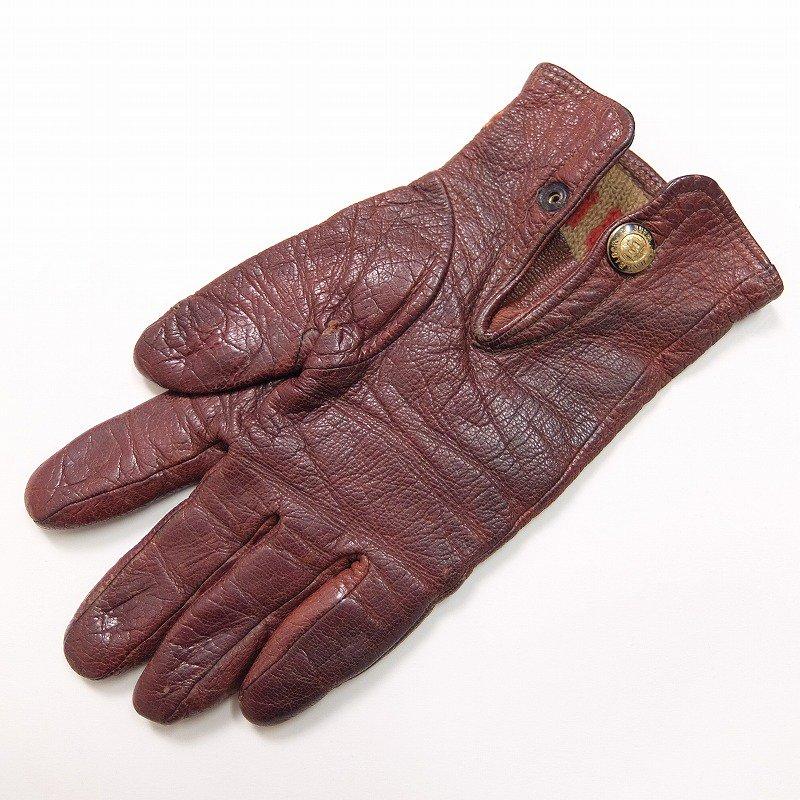 H. & L. BLOCK Leather Gloves