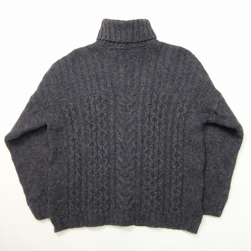 INIS CRAFTS Turtle Neck Fisherman Sweater