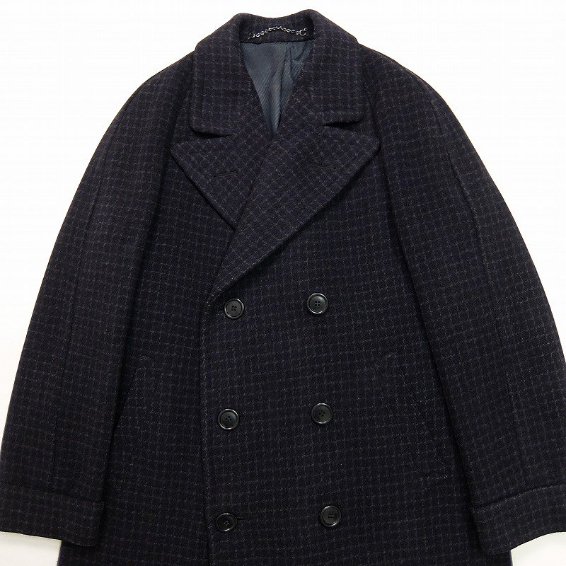 Double Breasted Wool Over Coat