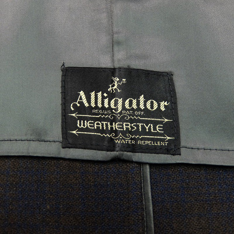 Alligator Tweed Over Coat