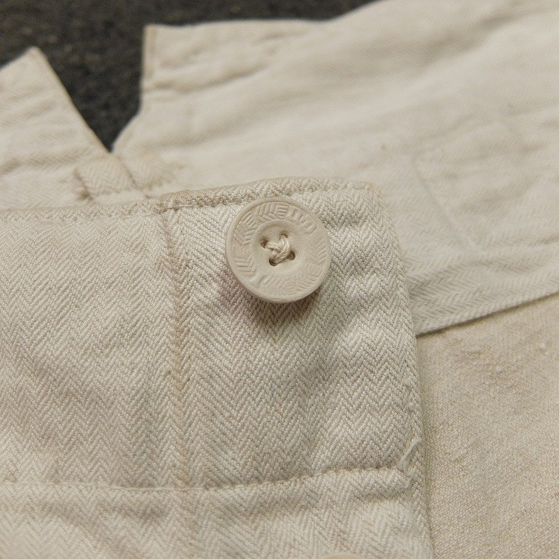 WW1 German Military Linen Trousers