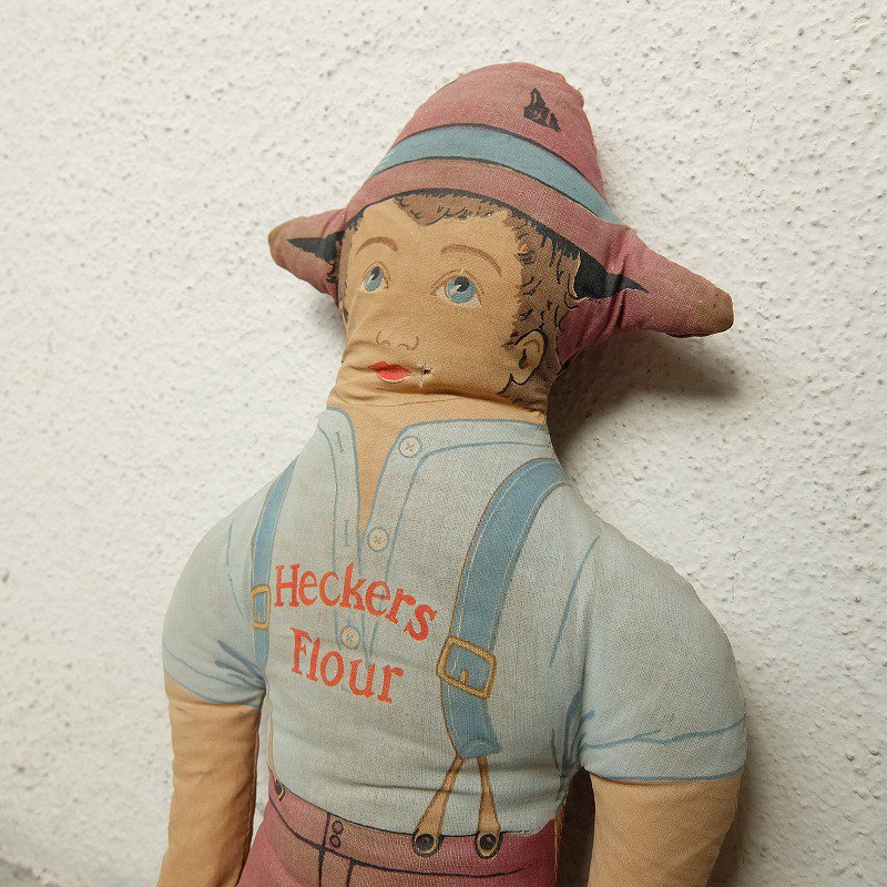 Heckers Flour Advertising Doll