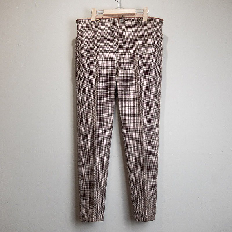 N.IMANDT WOOL TROUSERS