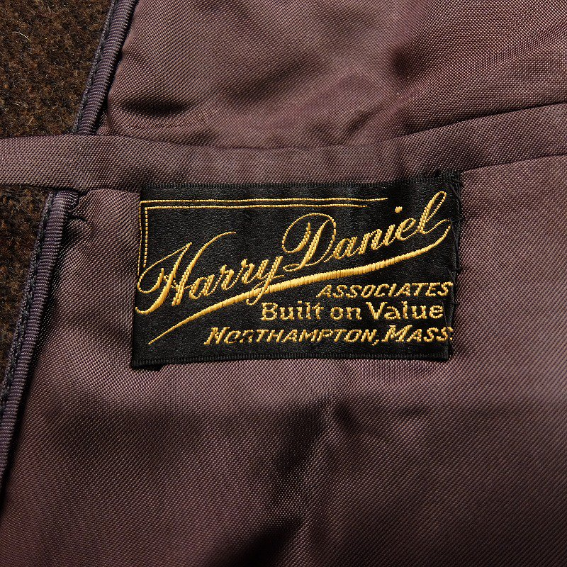 Harry Daniel Tweed Over Coat