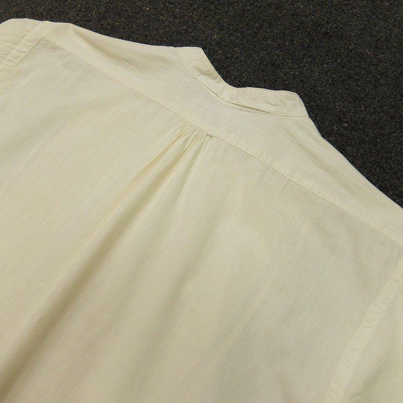 Pleated Bosom Pullover Shirt
