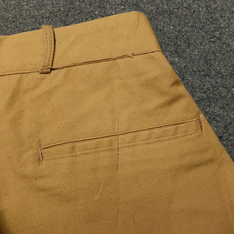 ARMY DUCK Double Seat and Knee Breeches Pants