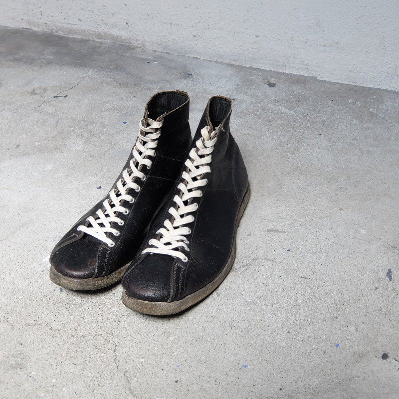 Leather Hi-Top Sneakers