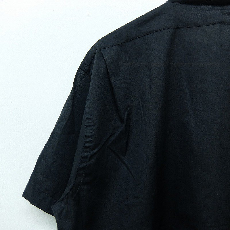 VAT DYED Band Collar Shirt