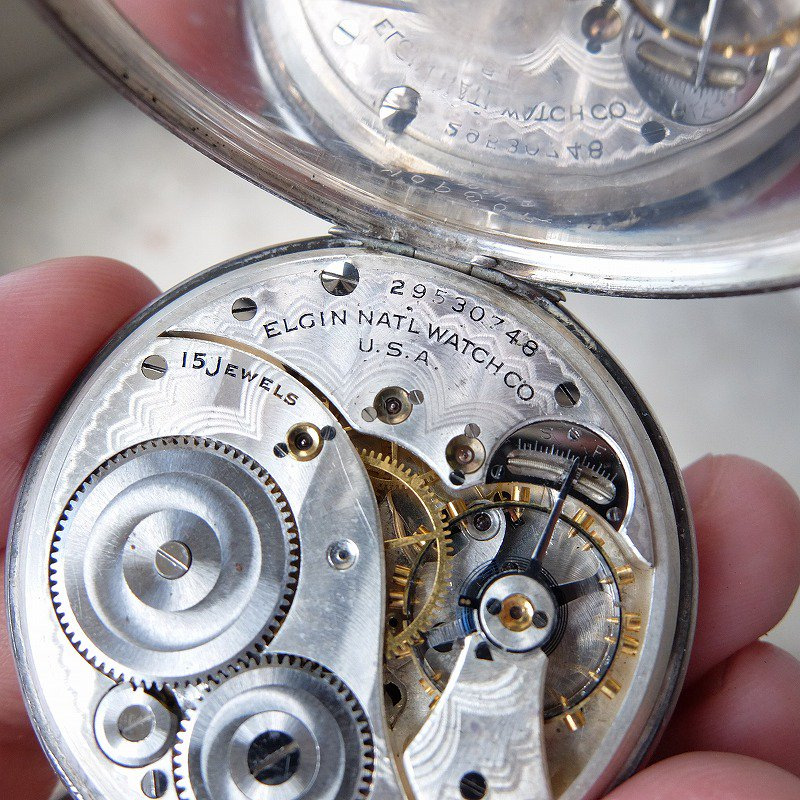 ELGIN NATL WATCH CO. Pocket Watch