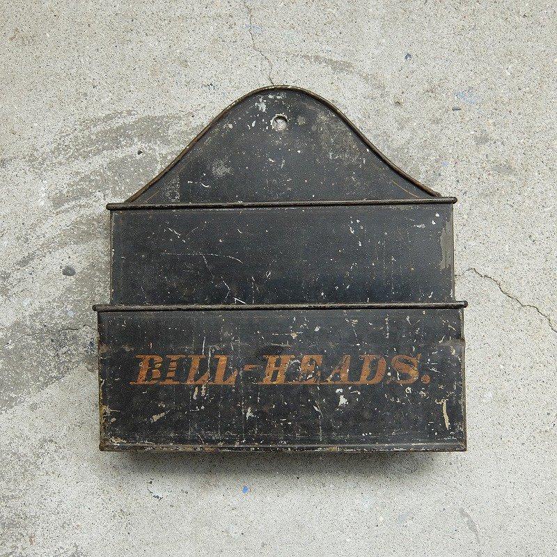 BILL-HEADS. Letter Holder