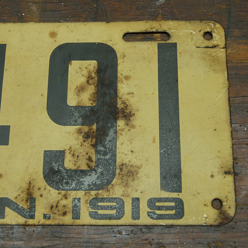 Connecticut Car Number Plate