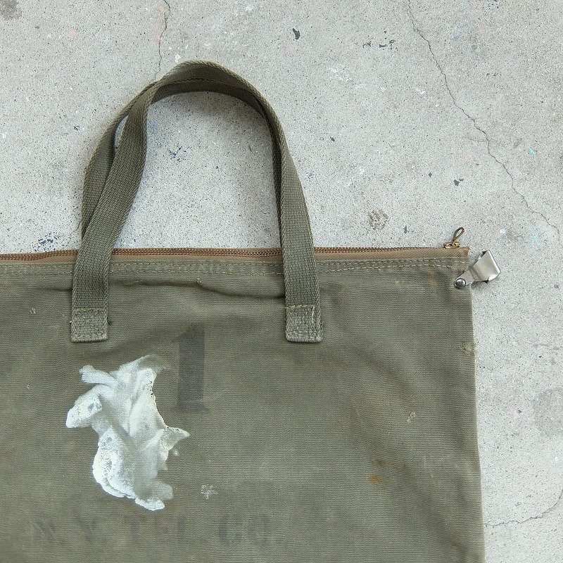 N.Y. TEL CO. Canvas Bag