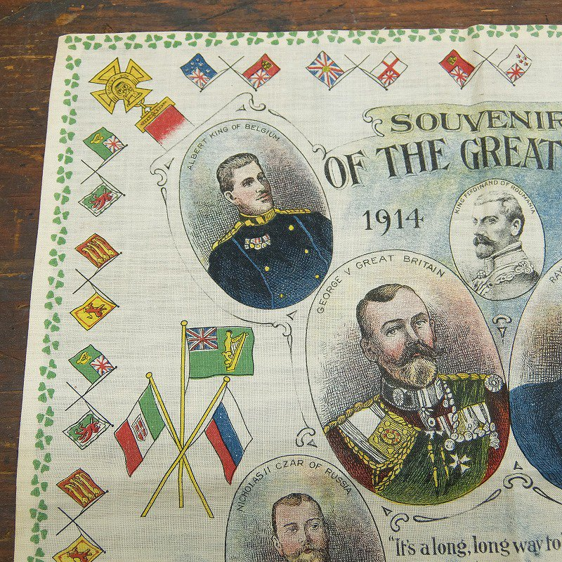 SOUVENIR OF THE GREAT WAR BANDANA