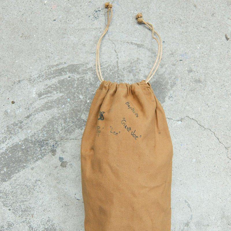 Vintage Brown Canvas Bag