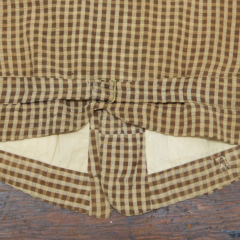 Antique Seersucker Waistcoat