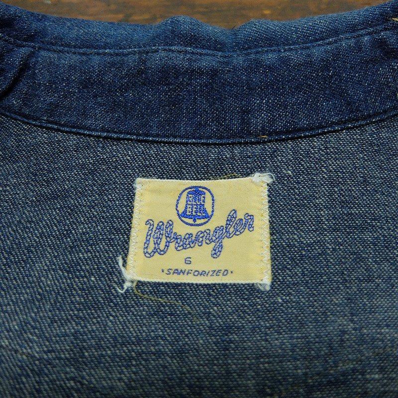 WRANGLER 1st Model Denim Western Shirt