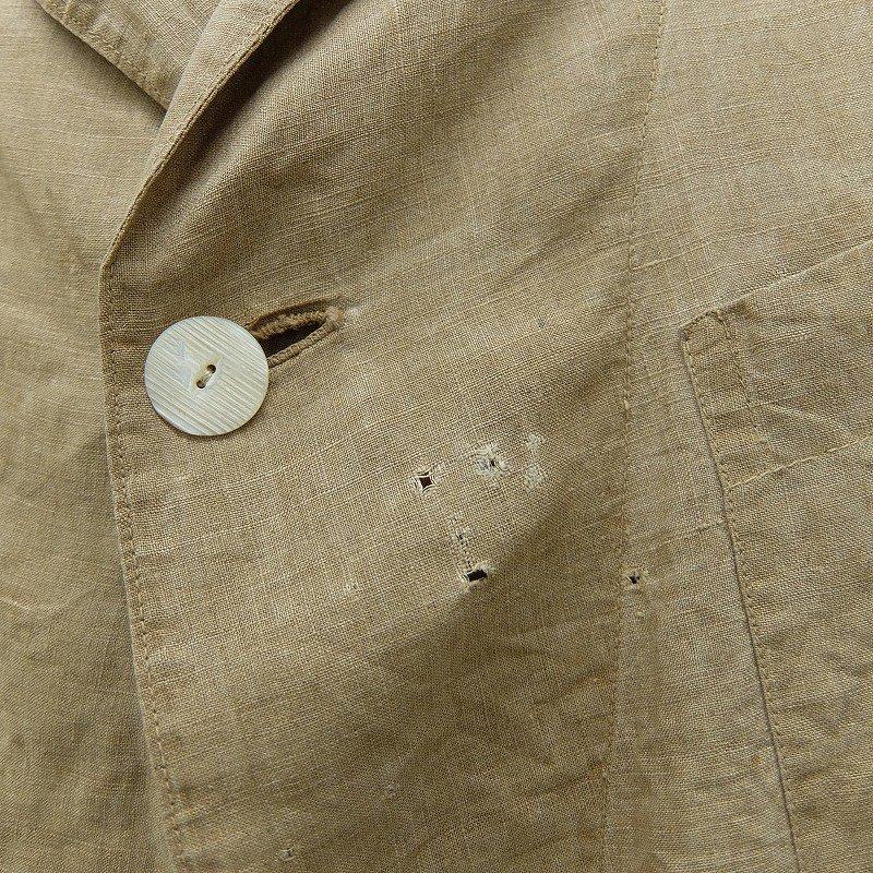 Antique Linen Sack Coat