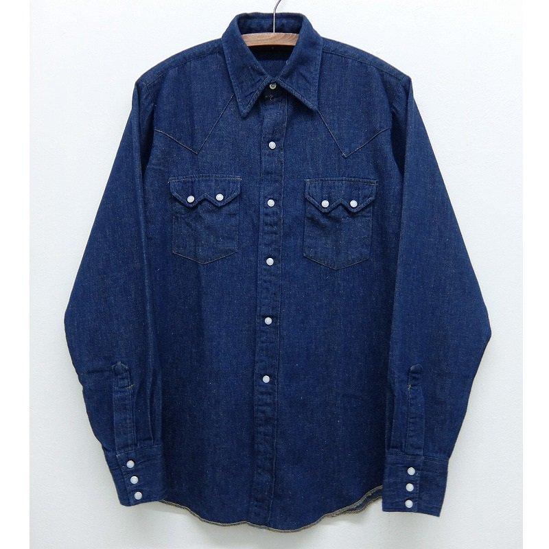 Vintage Denim Western Shirt