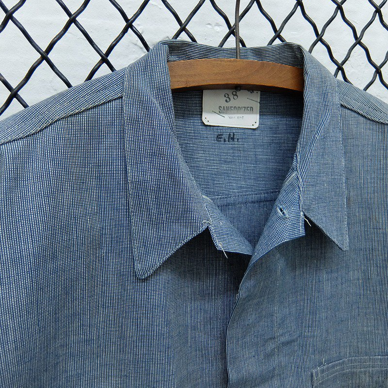 Pin Check Work Jacket