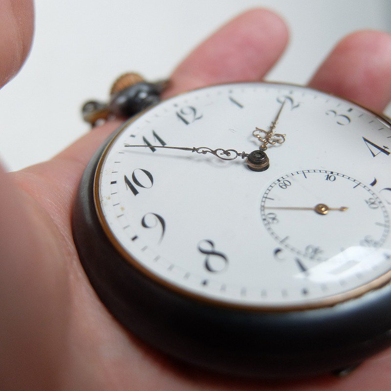Antique Ten Minute Repeater Pocket Watch