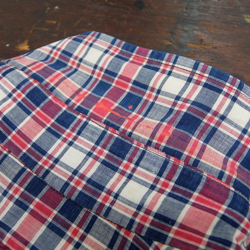 BROOKS BROTHERS Madras Check B.D. Shirt