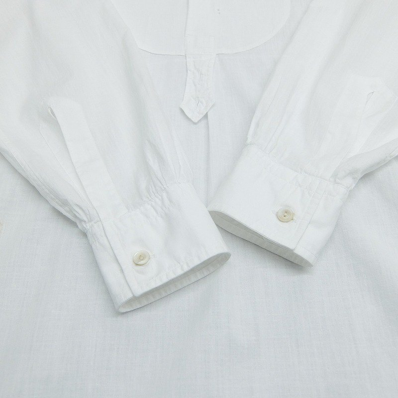FRENCH Linen Pullover Shirt