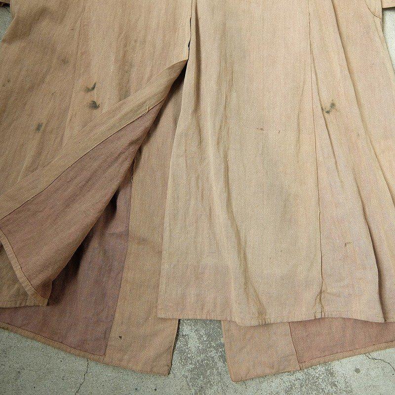 Brown Denim Duster Coat