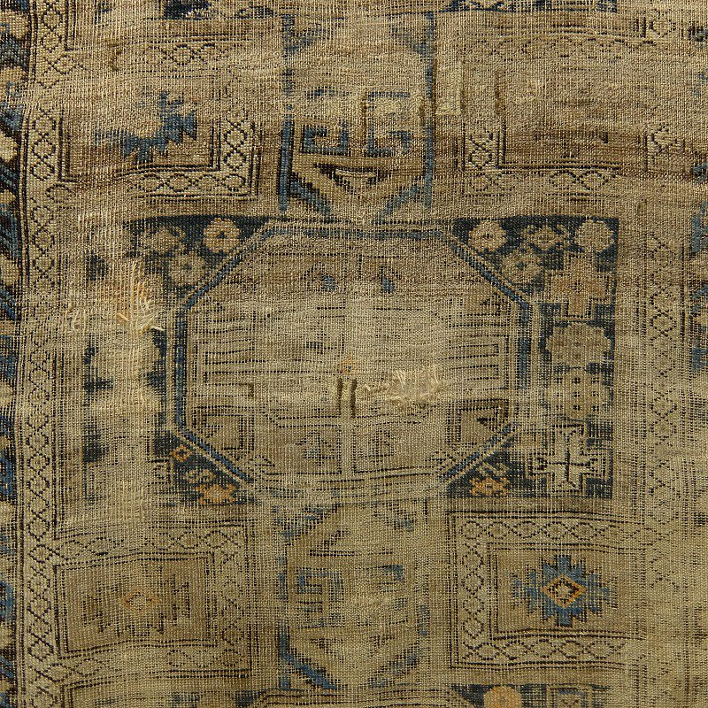 Antique Caucasian Tribal Rug