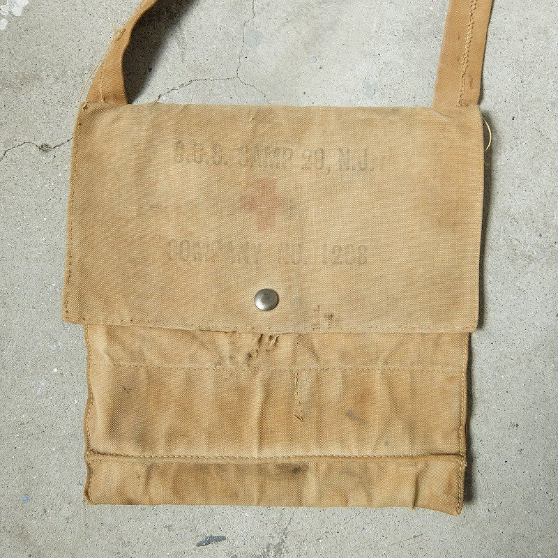C.C.C. CAMP SHOULDER POUCH NO.1