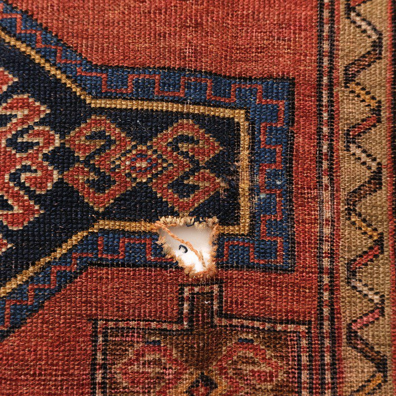 Antique Caucasian Tribal Rug