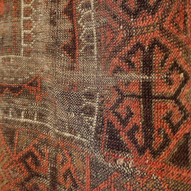 Vintage Baluch Tribal Rug