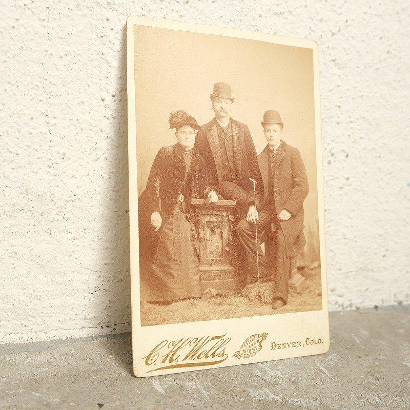 C.H.Wells Antique Photo