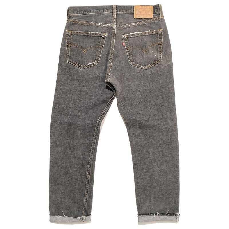 Levi's 501 Black Denim Pants