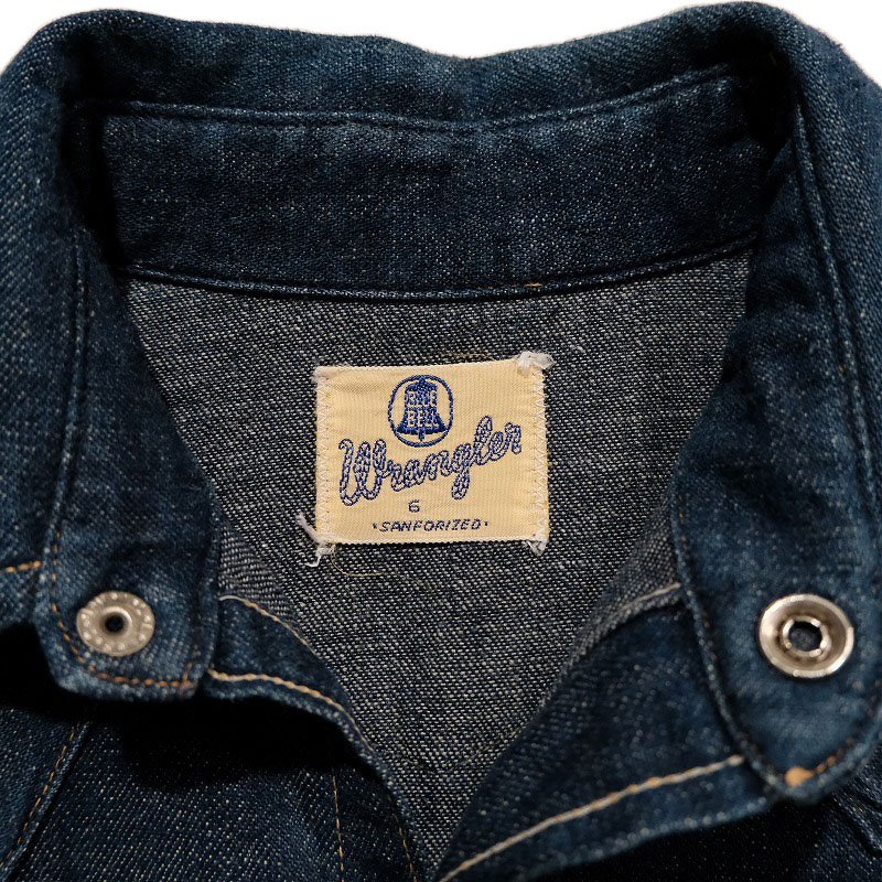 WRANGLER Denim Western Shirt