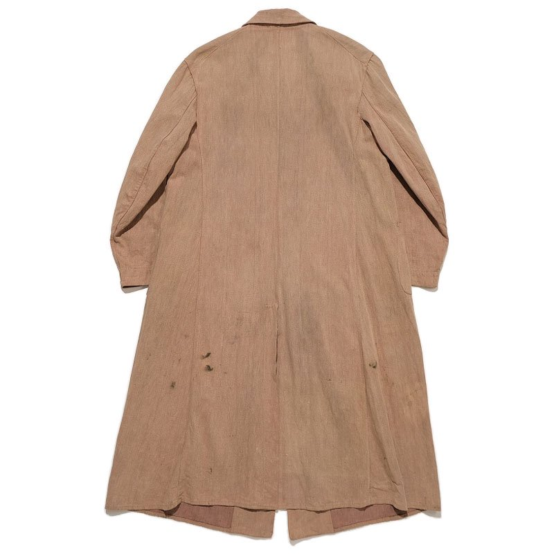Brown Denim Duster Coat