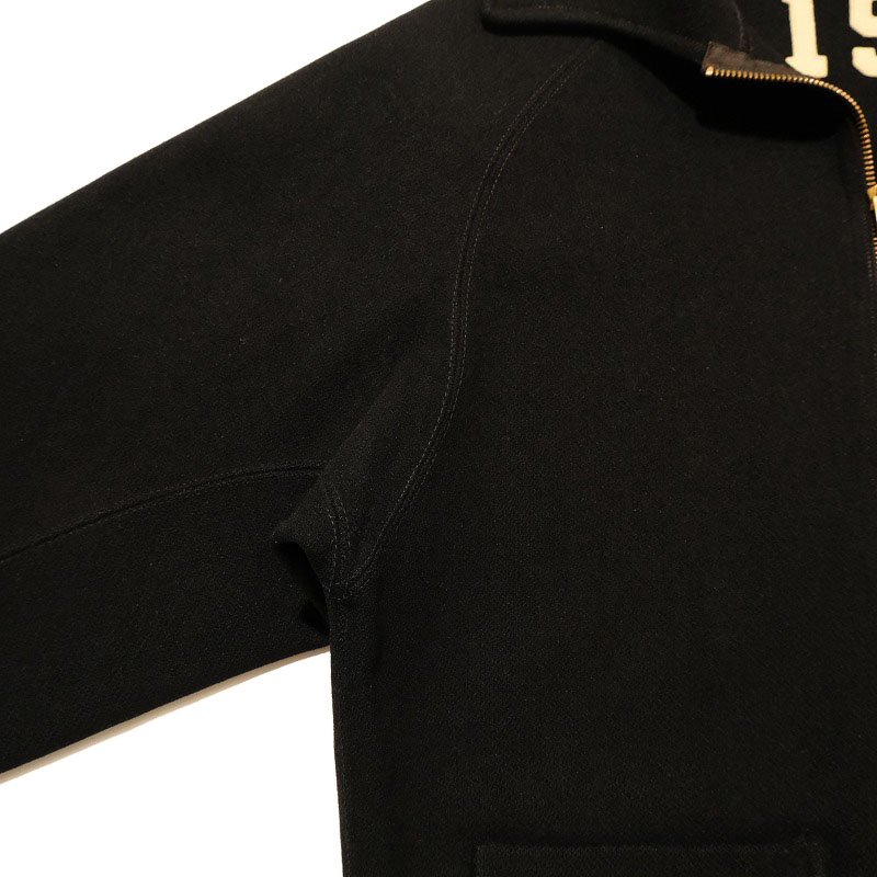 LOWE & CAMPBELL LETTERED WOOL JACKET