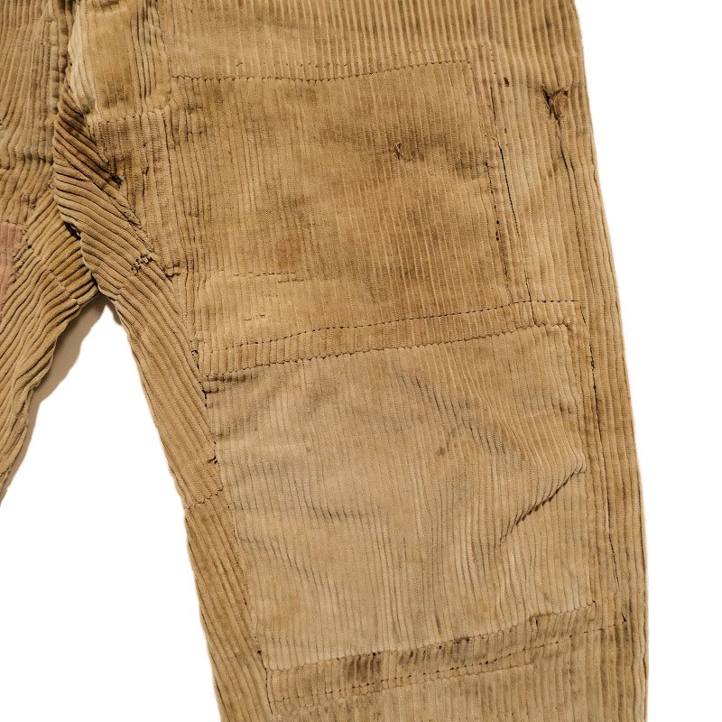 French Corduroy Work Trousers