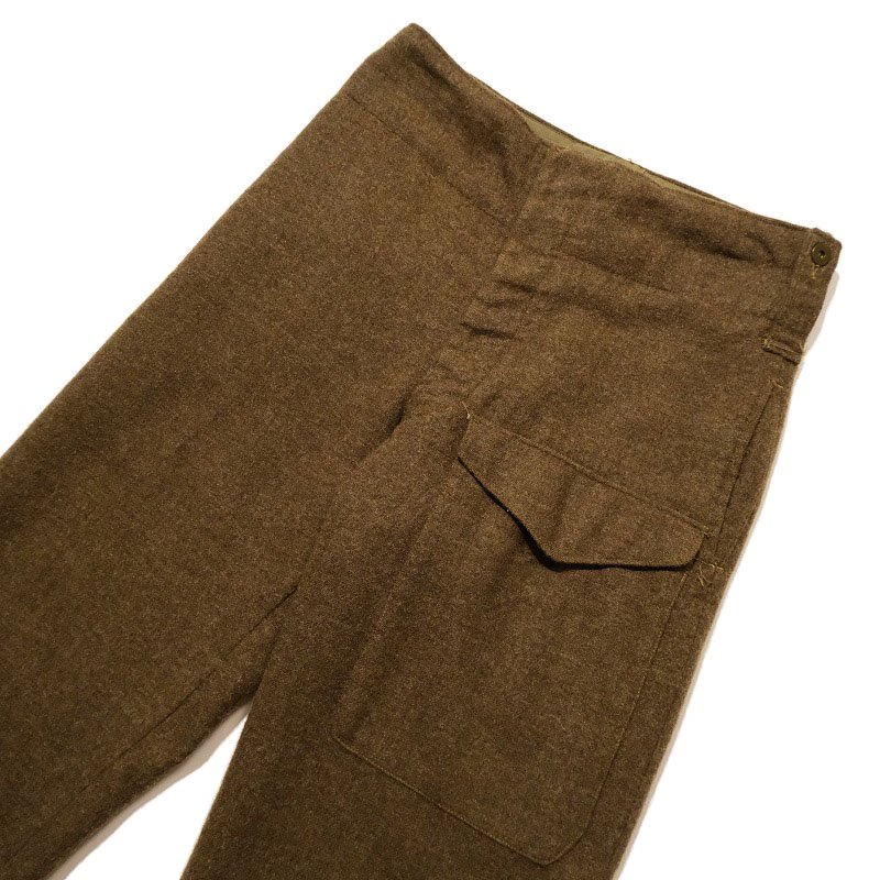 Vintage Canadian Military Wool Trousers