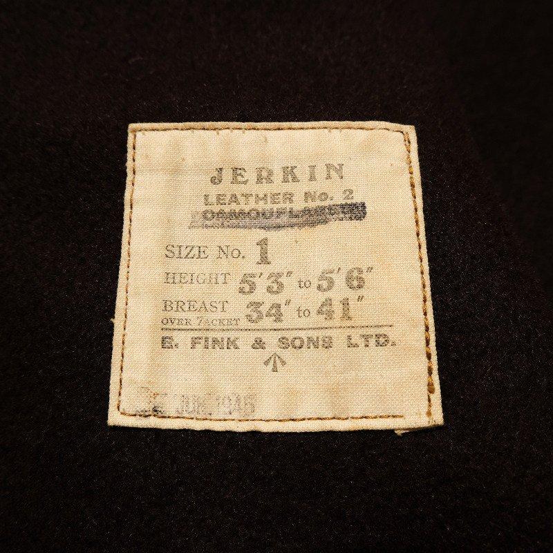 WW2 BRITISH ARMY JERKIN VEST