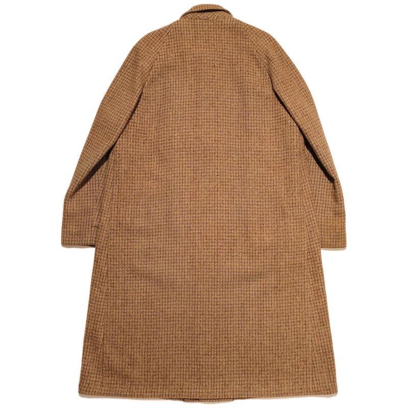 CAPPS CLOTHES Harris Tweed Overcoat