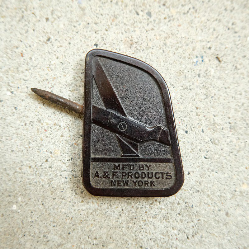 A. & F. PRODUCTS SCISSOR SHARPENER
