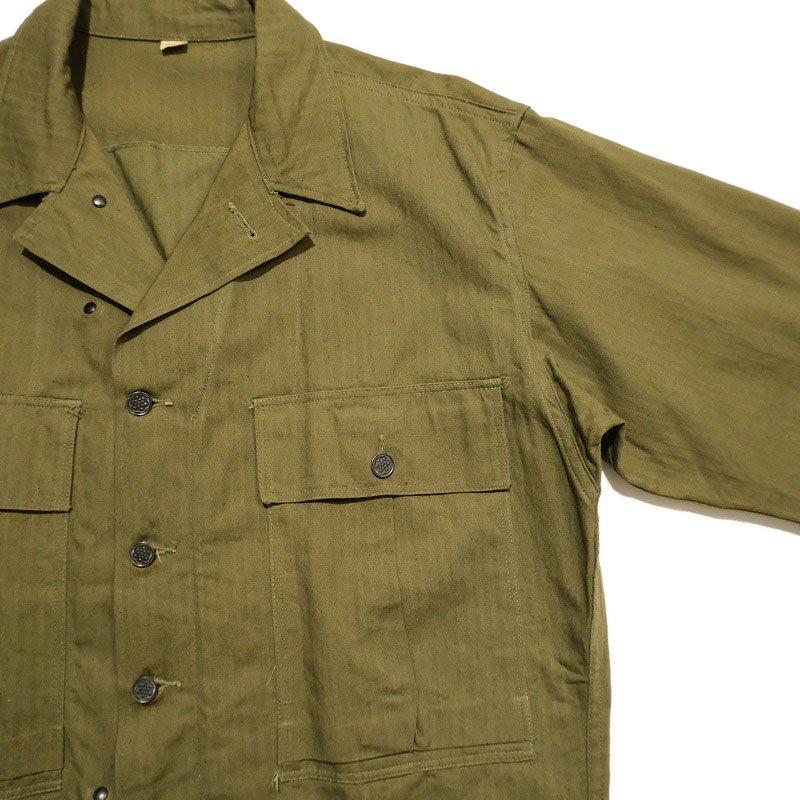 WW2 U.S.ARMY M-43 HBT JACKET