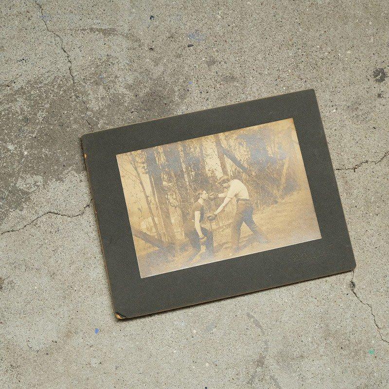 ANTIQUE BOXING PHOTO