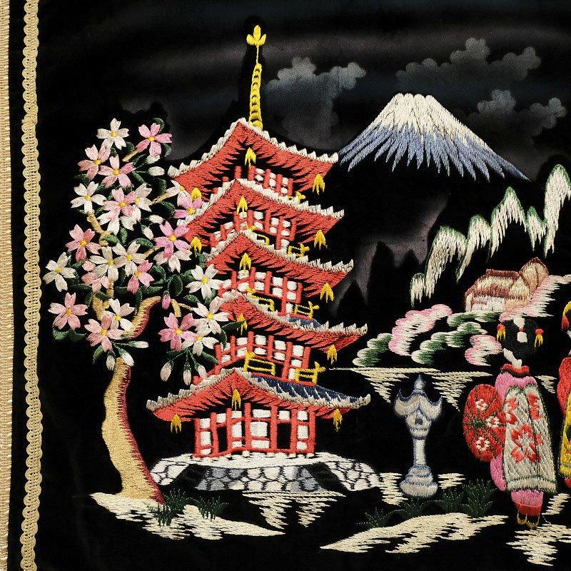 JAPAN SOUVENIR PILLOW COVER