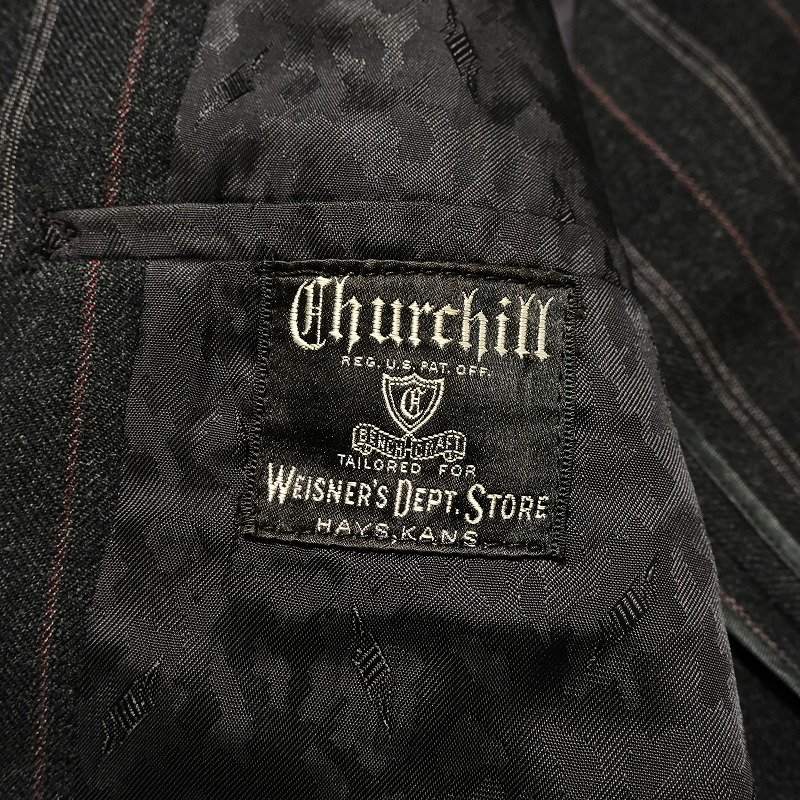 Churchill Clothes Double Breasted Suit Set